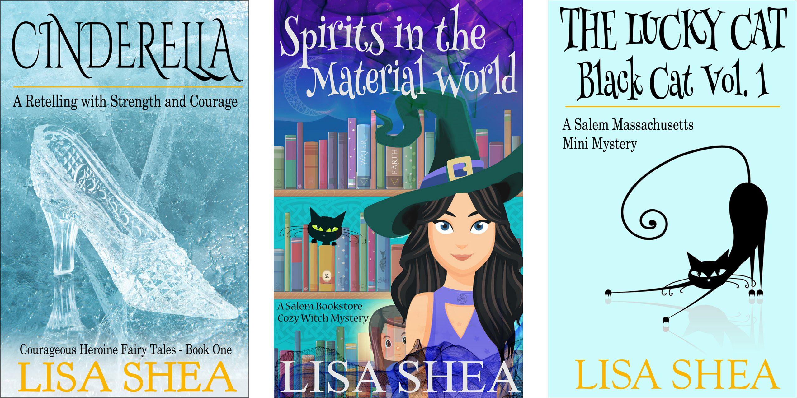 Lisa Shea Fantasy Paranormal Books